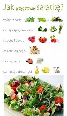 Jak przygotować sałatkę? :) ↑↑↑