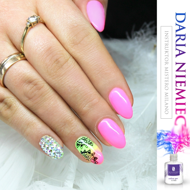 NEON > love < NAILS > na nails - Zszywka.pl
