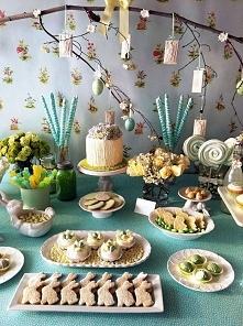 Pomysł na dekorację stołu w...