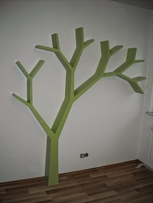 Półka jak drzewo 210x210x18...