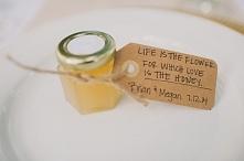 mini miodek, słoiczek miodu dla gości