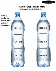 Jak pilnować się z piciem wody? ↑↑↑↑↑