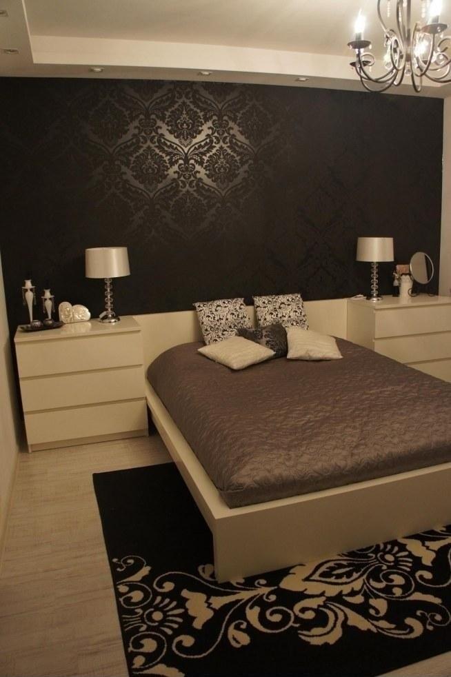 Sypialnia Beż Biel Brąz Przytulnie Na Wnętrza