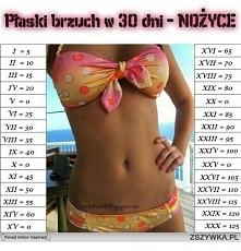 Płaski brzuch w 30 dni:)