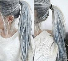 Granny Hair - moda na siwe ...