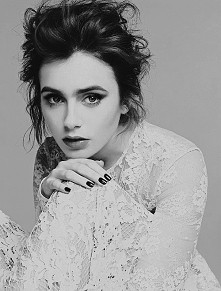 Lily dla magazynu Glamour <3 coraz piękniejsza
