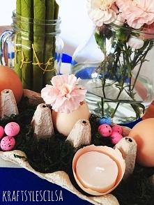 Dekoracja stołu Wielkanocne...