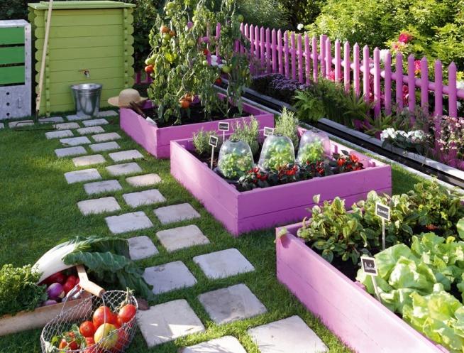 Super pomysł na ogród warzywny :)