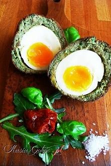 Przepis na jajka wielkanocne Scotch eggs