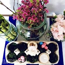 Wielkanocny stół.