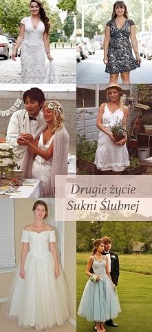 Jak wykorzystać suknię ślub...