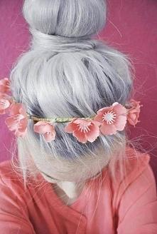 TREND 2015! siwe włosy :3