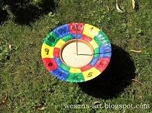 zegar słoneczny DIY