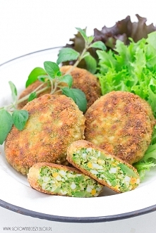 Kotleciki jajeczno - brokułowe,  przepis po kliknięciu w zdjęcie