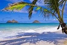Lanikai Beach, wyspa Ohau, Hawaje