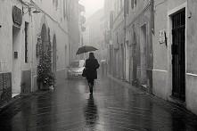 spacer w deszczu ;)