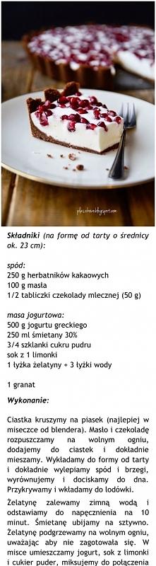 Przepis na tartę z granatem :-)