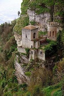 Cliff Castle. Trapani, Sicily