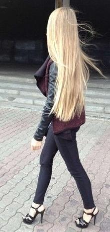 Eleganckie włosy