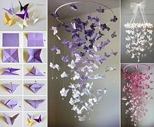 Zjawiskowe motylki-DIY.