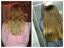 Moja włosowa przygoda zaczęła się  dwa miesiące temu :) Mam nadzieje, że widać pierwsze efekty mojej włosowej przygody.Moje włosy wcześniej były kruche łamliwe oraz cienkie wres...