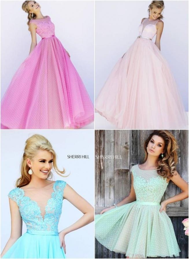 d5f1e10166 Le Labbra Fashion Długa Suknia Romantycznie Na Wiosnę Tiul Na