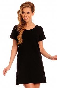 Lemoniade Sarah sukienka czarna Kobieca sukienka w dziewczęcych kolorach - kr...