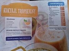 koktajl tropikalny ;3