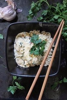 Kreatywne Piny; Sos pietruszkowy z brązowym ryżem, Przepis po kliknięciu w zdjęcie <3