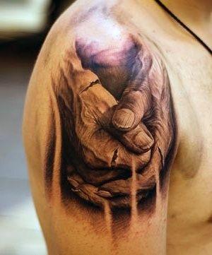 Tatuaże 3d Dłonie Na Tatuaże Zszywkapl