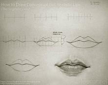 Jak narysować realistyczne usta :)