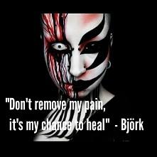 nie odbieraj mi bolu to moja szansa na uleczenie