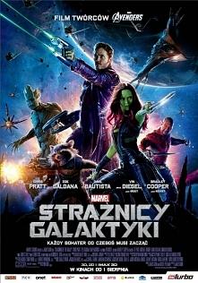 Strażnicy Galaktyki  Zuchwały awanturnik Peter Quill kradnie tajemniczy artefakt będący obiektem pożądania złego i potężnego Ronana, którego ambicje zagrażają całemu wszechświat...
