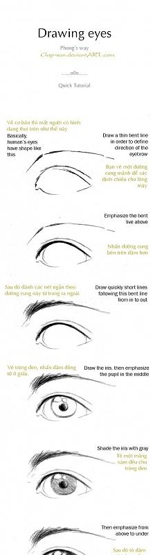 Jak narysować oczy ?