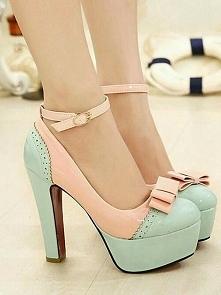 Jak wam się podobają ? te pastelowe buciki ? ^^