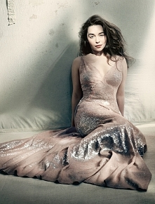Emilia Clarke, photographed by Paola Roversi for Vogue UK, May 2015.