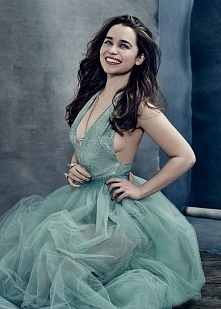 Emilia Clarke, photographed by Miller Mobley for The Hollywood Reporter, Apri...
