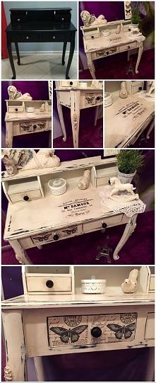 moja metamorfoza biurka :))