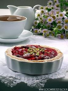 Tartaletki truskawkowo rabarbarowe