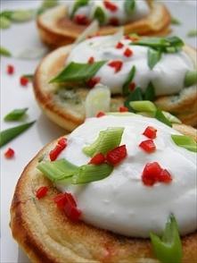 Chilli & Spring Onions Pancakes