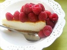 Sernik z białej czekolady