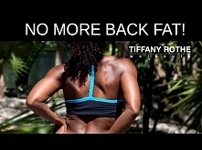 No more back fat!Improve your posture and firm your back with this fun and effective routine.