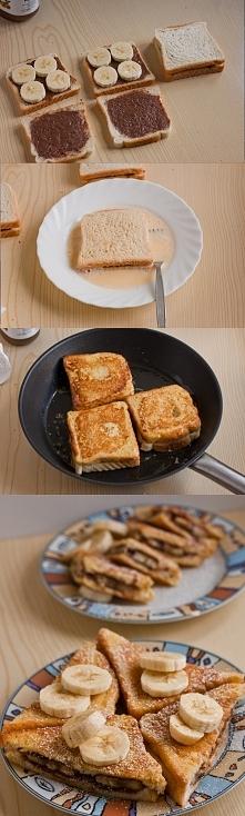 Szybki pomysł na śniadanie ...