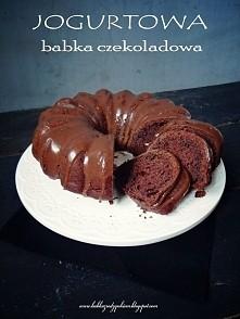 Jogurtowa babka czekoladowa...