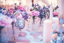 Żywa dekoracja weselna :)
