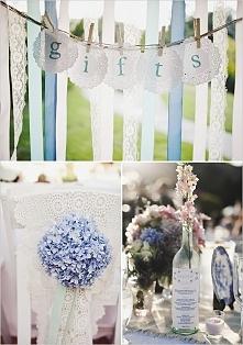 pomysł na dekoracje ślubne