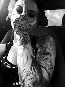 mega pomysłowy tatuaz