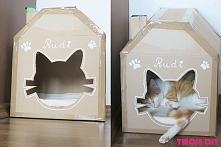 Jak zrobić domek dla kota z...