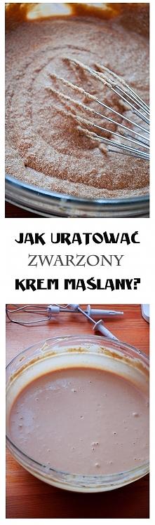 Jak uratować zwarzony krem? – 3 sposoby ilovebake.pl