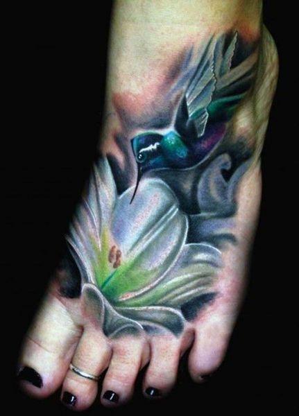 Tatuaże Dla Dziewczyn Na Stopie Na Tatuaże Zszywkapl